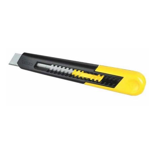 Nóż 18mm ostrze łamane SM tworzywo ABS - karta