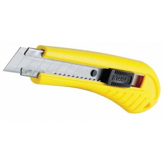 Nóż 9mm ostrze łamane SM tworzywo ABS - karta