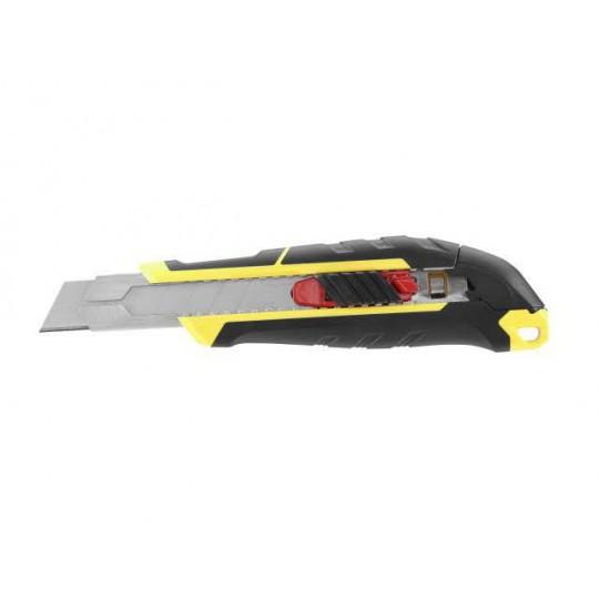 Nóż 18mm ostrze łamane z suwakiem i blokadą
