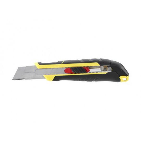 Nóż 25mm ostrze łamane z suwakiem i blokadą