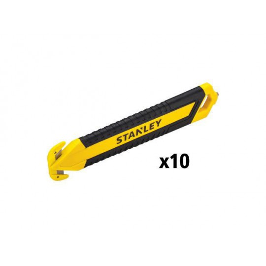 Nóż bezpieczny do taśm, pakowy 2-stronny Bi-Mat 10 szt.